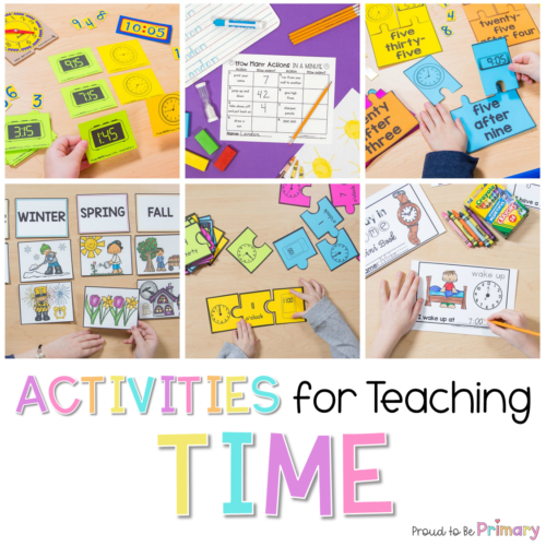 Telling Time Activities