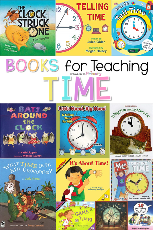 books for telling time in the classroom