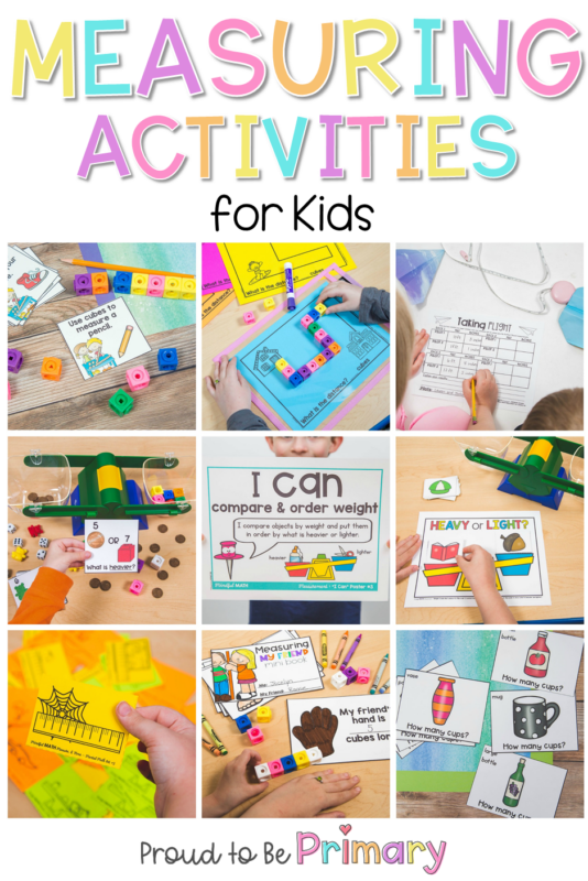 22 Measurement Activities for Kids at Home or at School